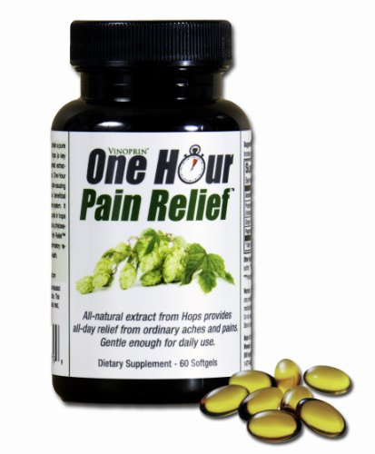Vinoprin One Hour Pain Relief Supplement - 60 Softgels