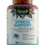Stress Support with Herbal Extracts – 90 Count | Natural Support for Stress Relief and Relaxation | with Vitamins C, B Complex, PABA, Choline, and Herbals | Natural Anxiety Relief Supplement