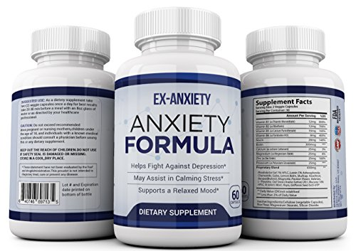 Optimal Effects Natural Anxiety Relief and Stress Support Supplement - 60 Capsules