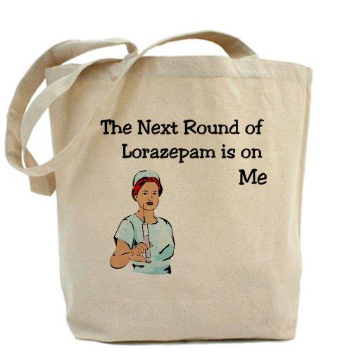 CafePress Next Round Lorazepam Tote Bag - Standard Multi-color