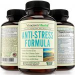 Anti Stress & Anxiety Relief Supplement by Vimerson Health. Herbal Blend with Biotin, 5-HTP, Valerian, Lutein, Vitamins B1 B2 B5 B6, L-Theanine, St Johns Wort, Ashwaghanda, Chamomile, Niacin