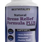 Bestvitality Premim Natural Homeopathic Stress, Panic and Anti Anxiety Relief Supplement (L-theanine – 150mg) Supports Mental Clarity 60 Vegetarian Capsules – Made in USA