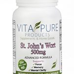 Premium Pure St John's Wort Supplement – Helps Memory, Mood & Much More – St John Wort 500mg – 100 Capsules – Made in the USA – 100% Satisfaction Warranty – FREE BONUS REPORT