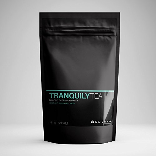 TranquilyTea Anti-stress Passion Flower Linden Pear Herbal Tea 3oz 40 cups NEW PACKAGING