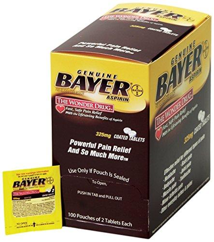 Medique Products 45647 Bayer Aspirin, 200 Tablets