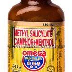 Methyl Salicylate Camphor+Menthol Omega Pain Killer Liniment 120ml