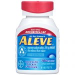 Aleve Caplets with Easy Open Arthritis Cap, 220 mg, 100 Count