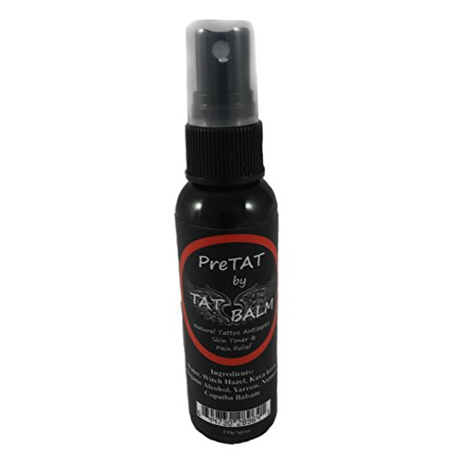 Tattoo Numbing Spray - All Natural Numb (2 Ounce) - The Healing Tattoo Pain Killer