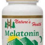 Melatonin, Natural Sleep Aid, Non-Habit Forming Sleep Aid, Develop Good Sleep Habits, Wake Up Rejuvenated, 3 Mg, 60 Tablets, Nature's Health