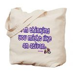 CafePress – Ativan Tote Bag – Natural Canvas Tote Bag, Cloth Shopping Bag
