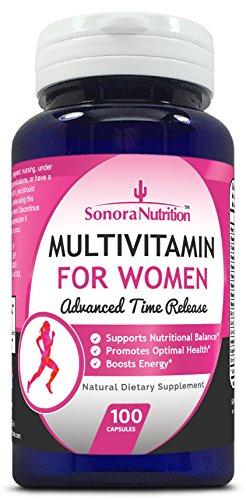Sonora Nutrition Multivitamin for Women Advanced Time Release, 100 Capsules