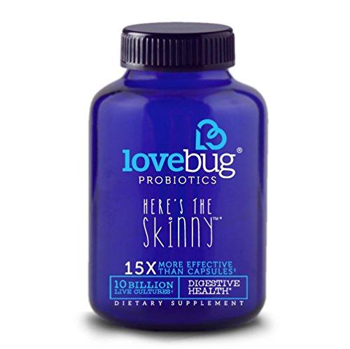 # 1 Rated LoveBug Probiotics Supplement - Enhance Immune System for Digestive Health - 10 Billion CFU, Delayed Release, Gluten Free Tablet perfect for Women & Men - 30 Day Supply.