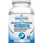 Advanced Probiotic Extra Strength Supplement for a Healthy Immune System, Restores Good Bacteria, Relieves Leaky Gut, Nausea, Indigestion, Irritable Bowel Syndrome – Supports Your Immune System, for Women, Men and Kids, 60 Caps – 100% Potent Formula