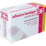 Ever Ready First Aid Quality Adhesive Bandage Variety Pack, 280 Count