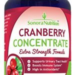 Sonora Nutrition Cranberry Pills Extra Strength Formula Equal to 15,000 mg of Fresh Cranberries, 100 Capsules