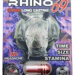 RHINO 69 EXTREME 9000 All Natural Male Enhancement Sex Pills – TIME – STAMINA – GIRTH (5 Pack)