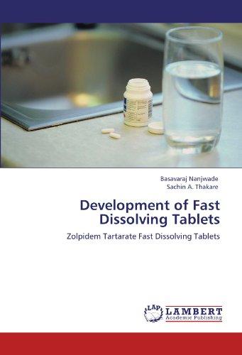 Development of  Fast Dissolving Tablets: Zolpidem Tartarate Fast Dissolving Tablets