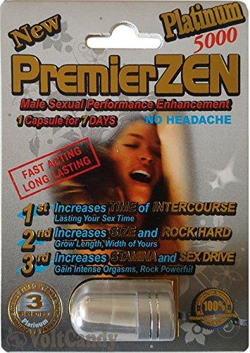 PremierZEN Platinum 5000mg Male Sexual Performance Enhancement %100 AUTHENTIC (3)