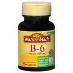 Nature Made Vitamin B6 100 mg Tabs, 100 ct