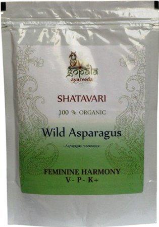 SHATAVARI POWDER 100% USDA CERTIFIED ORGANIC - 100gm
