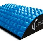 Lower Back Stretcher by SOLIDBACK – Chronic Lumbar Pain Relief Treatment Products Helps With Spinal Stenosis Sciatica Herniated Disc Upper and Low Neck Muscle