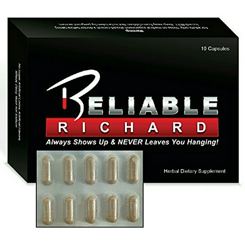 10x Reliable Richard All Natural Male Enhancement Capsules - Increase Libido Stamina and Energy - Time - Size - Stamina