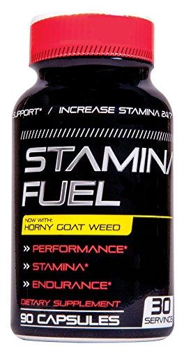 Stamina Fuel Male Enhancement - Enlargement Pills Increase Stamina, Size, Energy, Endurance 90 Cap. 1 Month Supply
