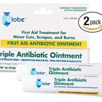 Triple Antibiotic First Aid Ointment, 1 oz. (Compare to Neosporin) 2-Pack