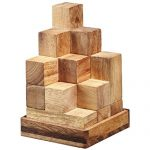 BRAIN GAMES Soma Cube Wooden Puzzle