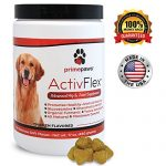 ActivFlex, Glucosamine for Dogs, Safe Arthritis Pain Relief, All Natural Hip & Joint Supplement For Dogs, Improves Hip Dysplasia, Chondroitin, MSM, Turmeric, 120 Soft Chew Dog Treats, Made in USA