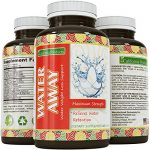 Pure Water Away Pills For Rapid Weight Loss – Achieve Natural Results Thanks to Ingredients Like Dandelion Root Extract – Boost Metabolism & Suppress Appetite – for Men & Women by California Products