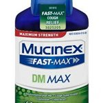 Mucinex Fast-Max DM, Max Strength, Cough Relief Liquid, 6oz