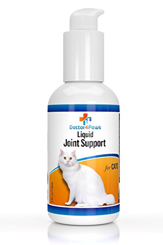 Premium Liquid Glucosamine For Cats, Supplement for Joint Pain Relief, Health and Support, Contains Glucosamine, Chondroitin and MSM