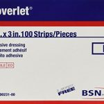 Coverlet Strip Dressings 1″ x 3″ 100 Each