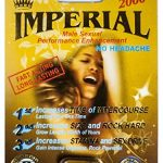 Imperial 2000mg GOLD Male Sexual Performance Enhancement Pill 6 PK