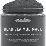 Dead Sea Mud Mask for Face & Body – 100% Natural Spa Quality – Best Pore Reducer & Minimizer to Help Treat Acne , Blackheads & Oily Skin – Tightens Skin for a Visibly Healthier Complexion – 8.8 OZ