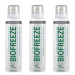 Bio Freeze Cold Therapy Pain Relief 360 Degree Spray, 4 Ounce (Pack of 3)