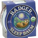 Badger – Sleep Balm – Lavender and Bergamot (.75 oz.) – 1 Pack