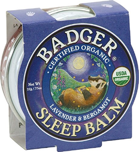 Badger - Sleep Balm - Lavender and Bergamot (.75 oz.) - 1 Pack