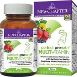 New Chapter Perfect Prenatal Vitamins Fermented with Probiotics + Folate + Iron + Vitamin D3 + B Vitamins + Organic Non-GMO Ingredients – 192 ct