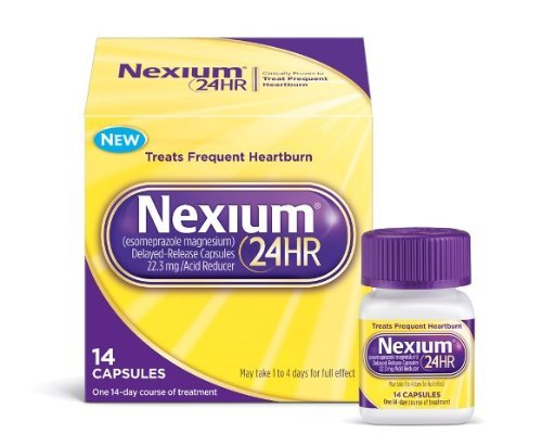 (3 Pack)-Nexium 24 Hour Capsules, 14 count each