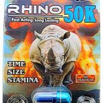 Rhino 50K Extreme Men Sexual Supplement Enhancement 3 Pills Pack