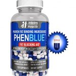 PHENBLUE Fat Blocking Aid Diet Pills, Blue & White (120 Capsules)