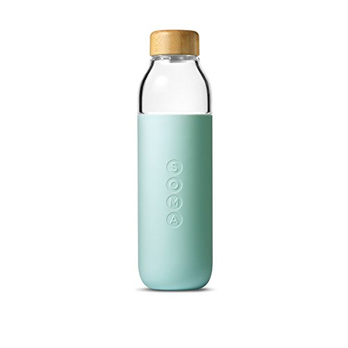 Soma 301-13-01 Bottle Glass Water, Mint Green