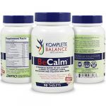 BeCalm   Natural Stress Support & Anti Anxiety Relief Remedy – Herbal Serotonin Booster For Positive Mood – Calm Nerves, Improve Sleep – Vitamin B Complex, Valerian Root, Chamomile & More