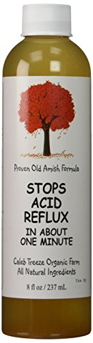 Caleb Treeze Organic Farm Stops Acid Reflux 8 oz (Pack of 3)