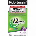 Robitussin 12 Hour Cough Relief, Grape, 5 Ounce