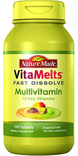 Nature Made VitaMelts Fast Dissolve Multivitamin (12 Key Vitamins) 100ct