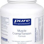 Pure Encapsulations – Muscle Cramp/Tension Formula – Hypoallergenic Supplement to Reduce Occasional Muscle Cramps/Tension and Promote Relaxation* – 180 Capsules