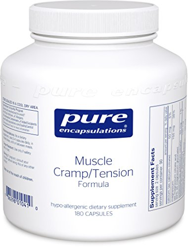 Pure Encapsulations - Muscle Cramp/Tension Formula - Hypoallergenic Supplement to Reduce Occasional Muscle Cramps/Tension and Promote Relaxation* - 180 Capsules